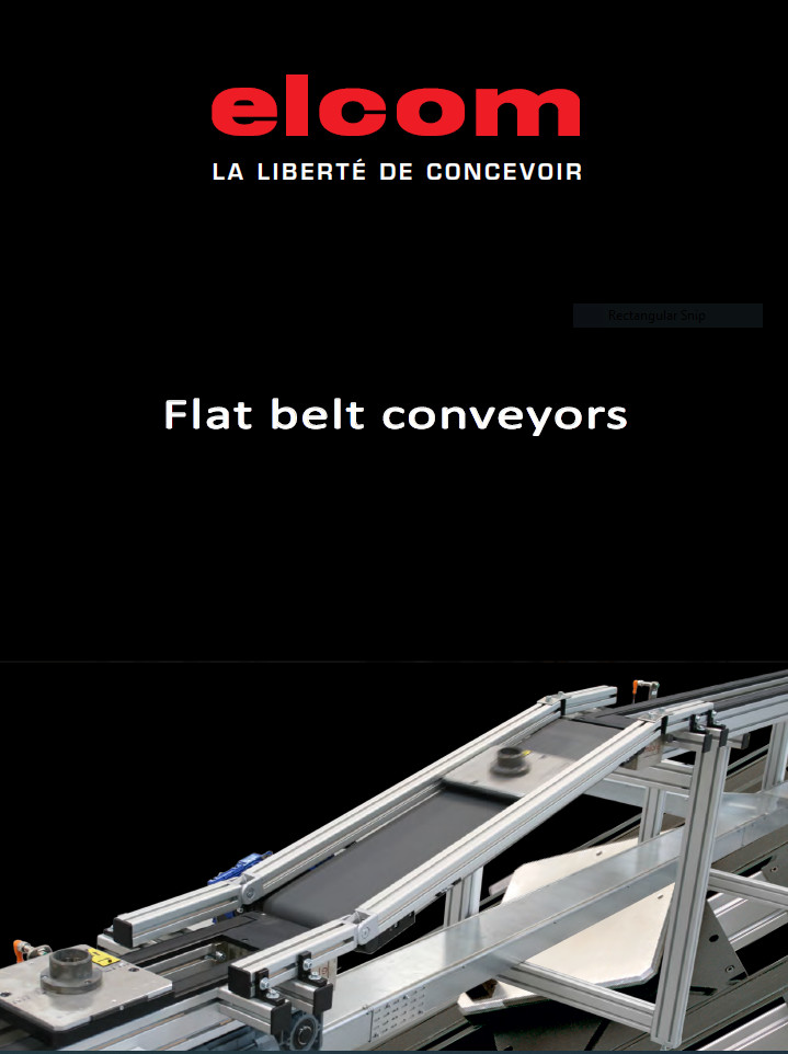 Elcom Flat Belt Conveyors